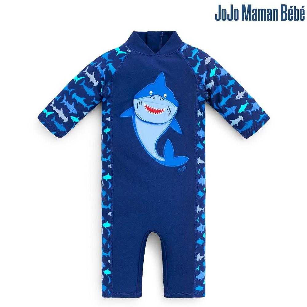 UV-dräkt Jojo Maman Bebe Blue Shark