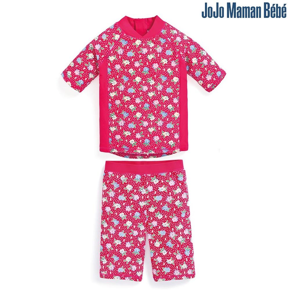 UV-tröja och UV-byxor Jojo Maman Bebe Strawberry