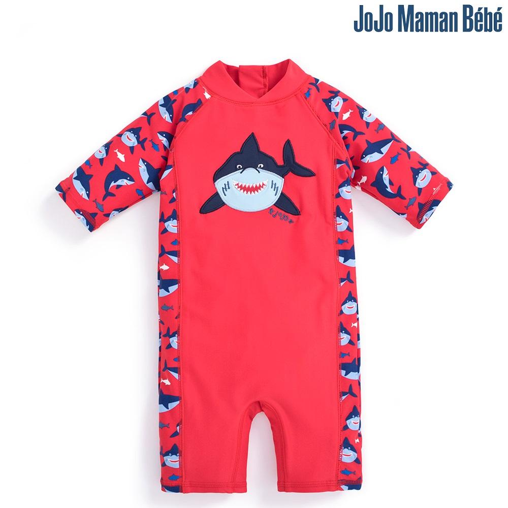 UV-dräkt Jojo Maman Bebe Red Shark