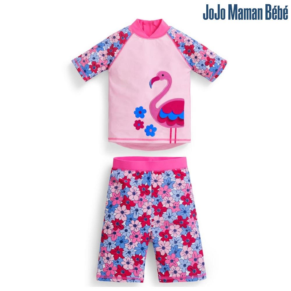 UV-tröja och UV-byxor Jojo Maman Bebe Flamingo