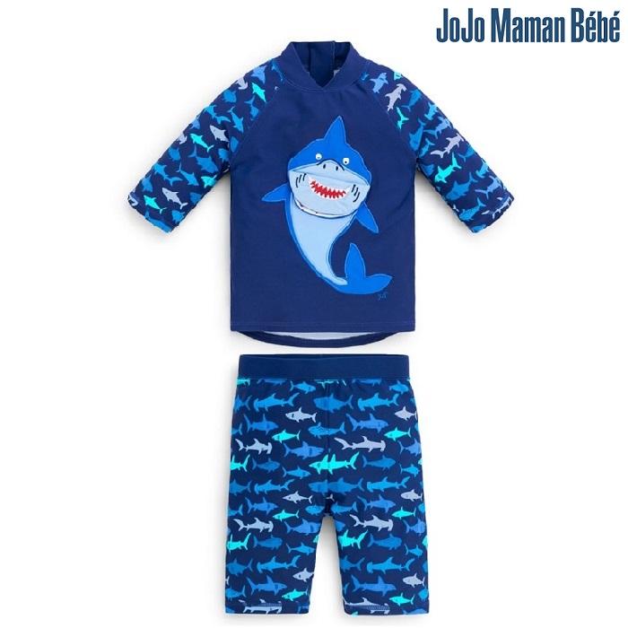 UV-tröja och UV-byxor Jojo Maman Bebe Blue Shark