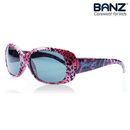 Solglasögon barn JuniorBanz Pink Leopard