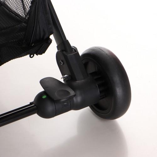 Keenz Air Plus 2.0 resebarnvagn - svart