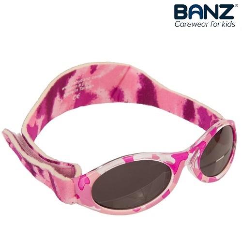 Solglasögon barn KidzBanz Pink Camo