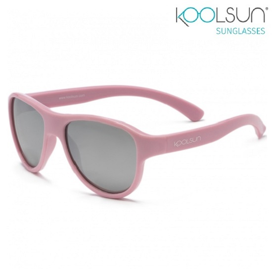 Solglasögon barn Koolsun Air Blush Pink