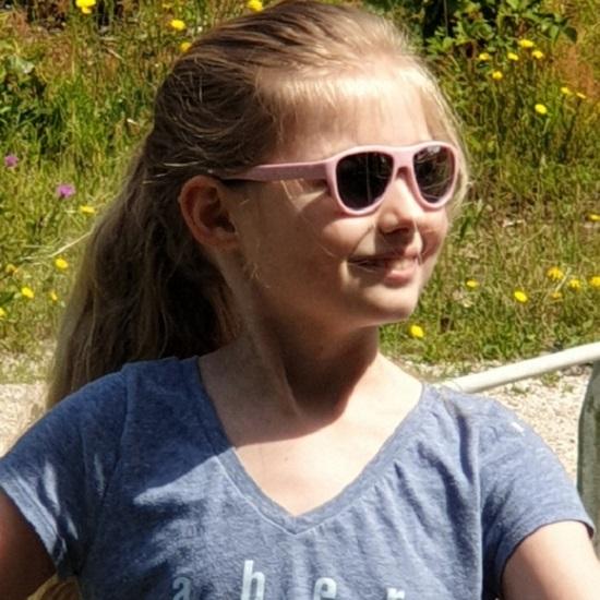 Solglasögon barn Koolsun Air Blush Pink