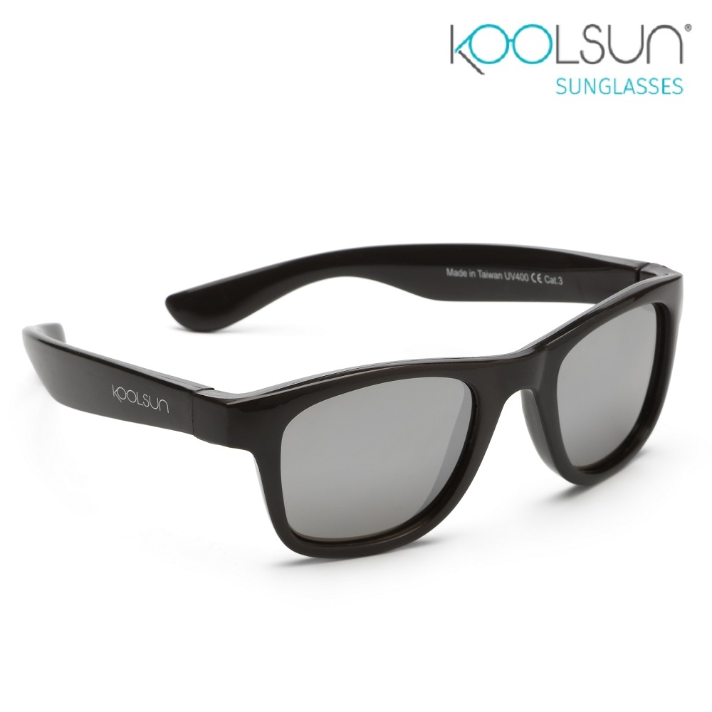 Solglasögon barn - Koolsun Wave Black Onyx