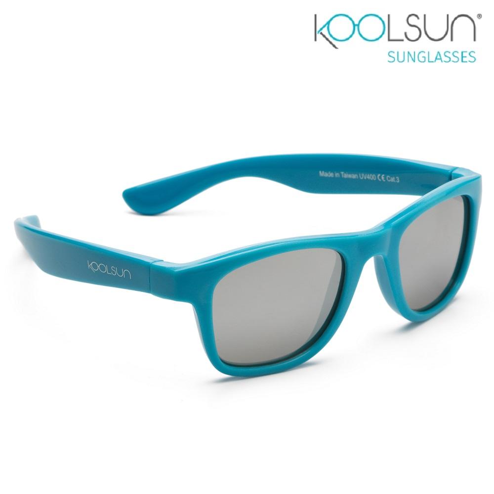 Koolsun Wave solglasögon barn - Cendre Blue