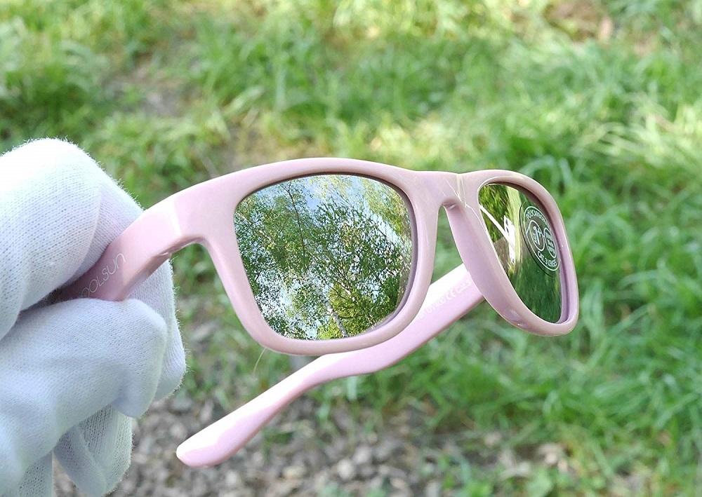 Koolsun Wave solglasögon barn - Pink Sachet