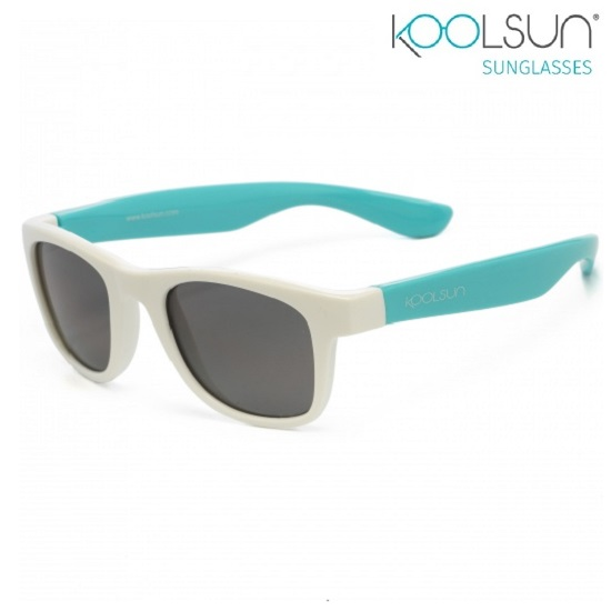 Solglasögon barn Koolsun Wave White Aquarius