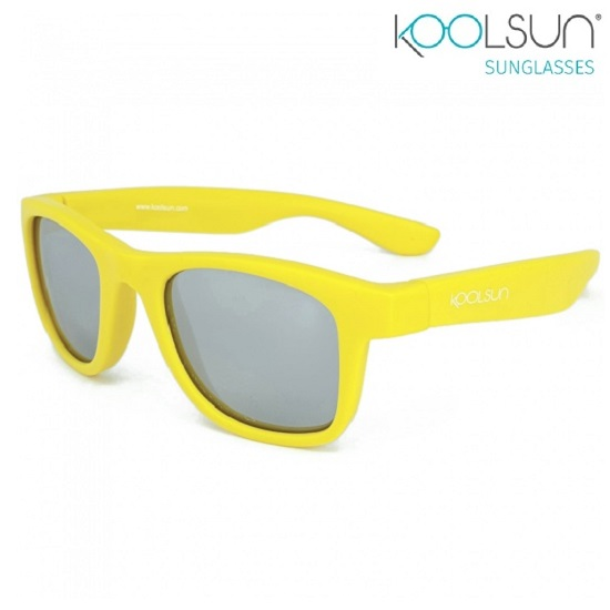 Solglasögon barn Koolsun Wave Empire Yellow