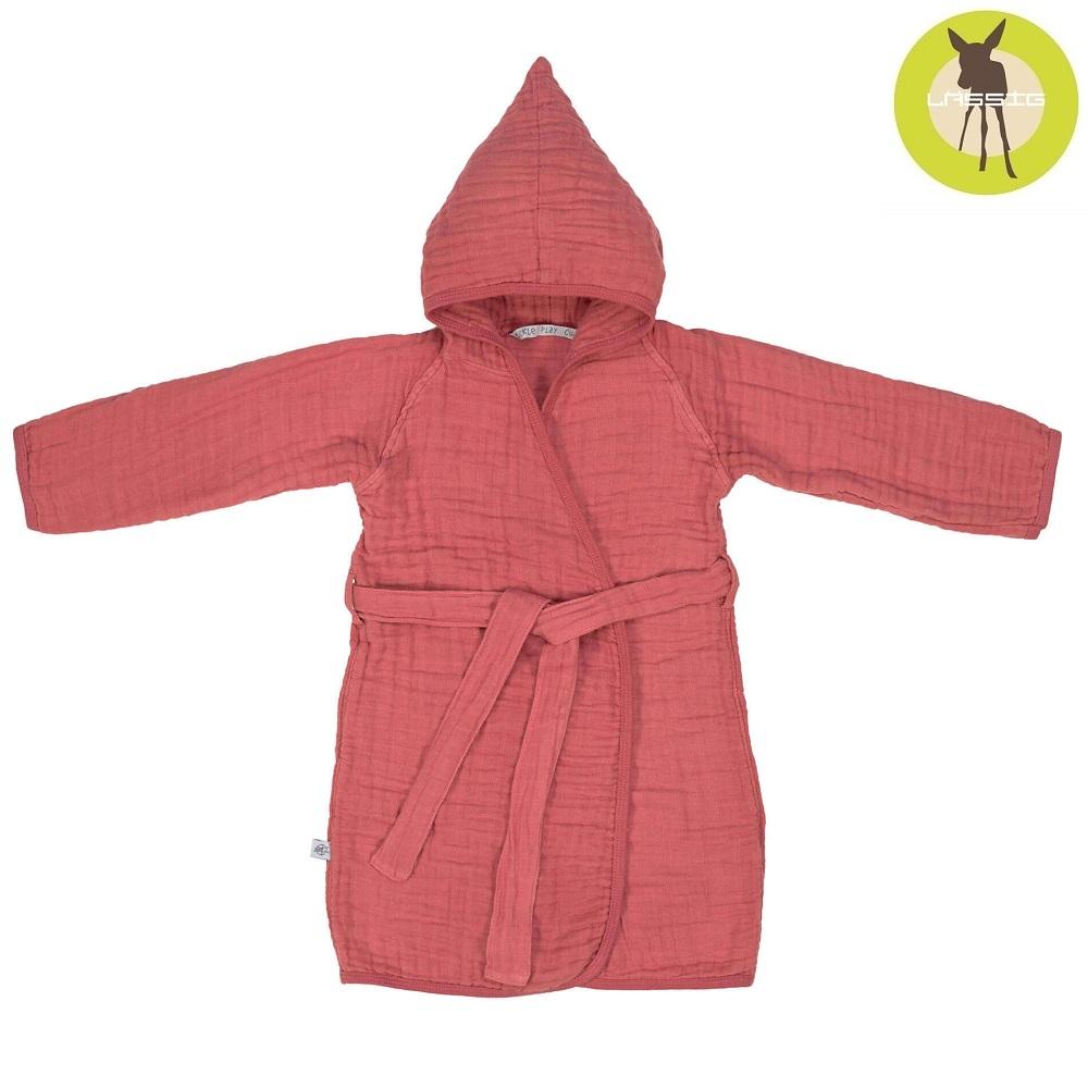 Lässig badrock för barn - Muslin Rosewood