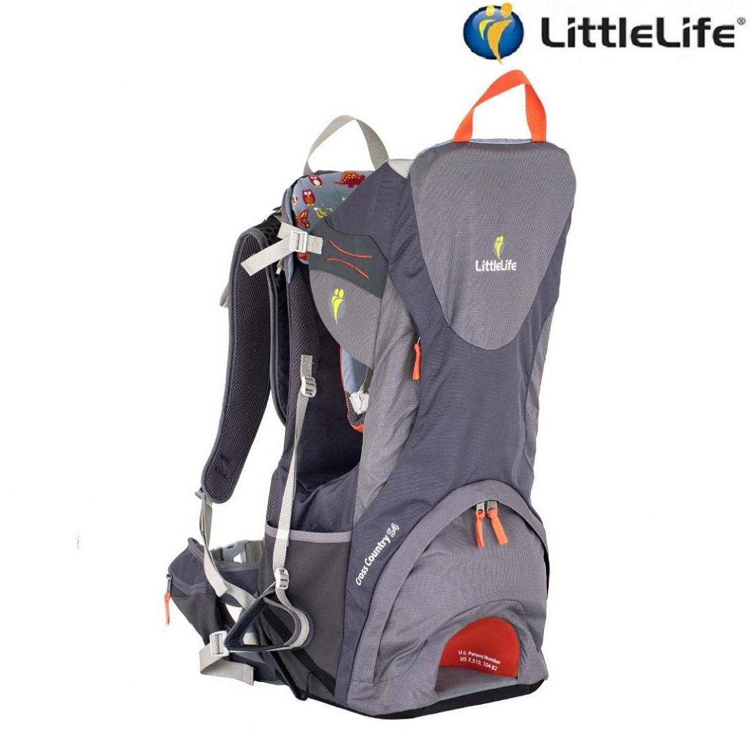 Bärstol - LittleLife Cross Country S4 (grå)
