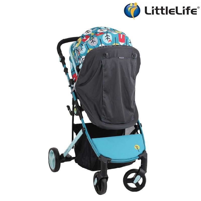 Solskydd barnvagn Littlelife Buggy Blackout