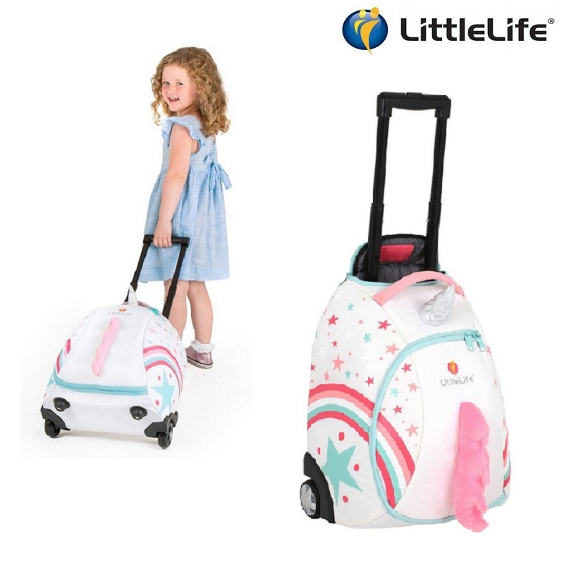 Resväska barn Littlelife Wheelie Duffle Unicorn
