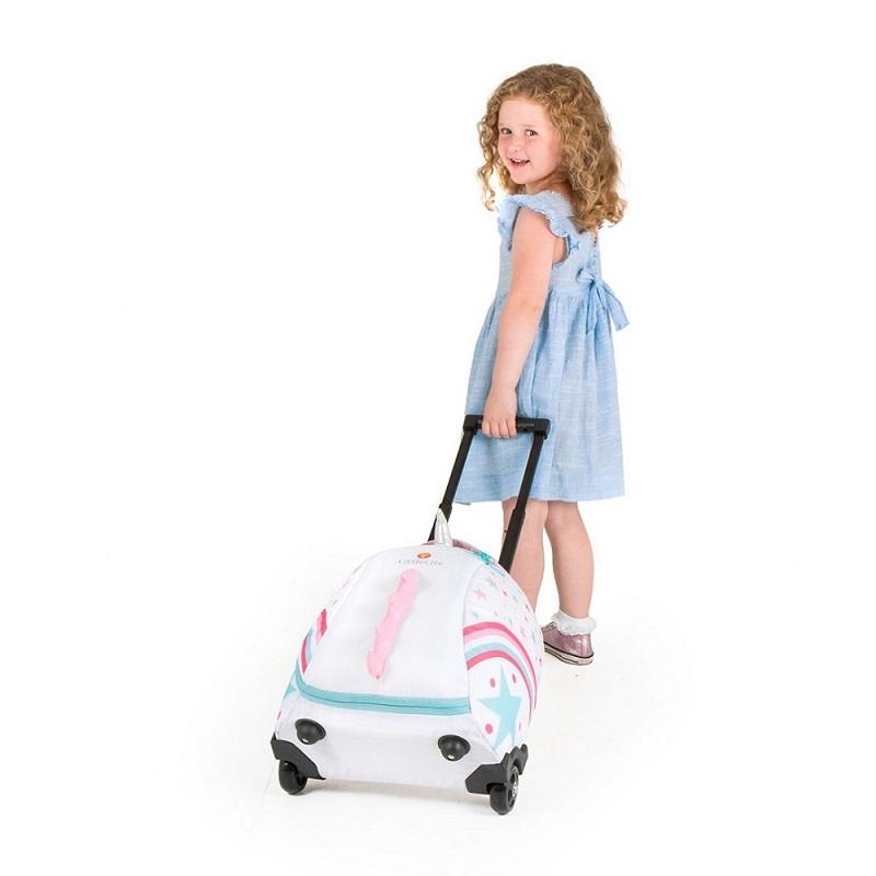 Resväska barn Littlelife Wheelie Duffle Unicorn