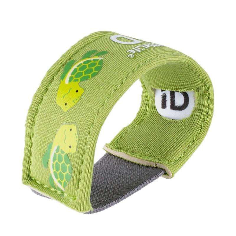Id armband barn Littlelife Id Strap Turtle grönt