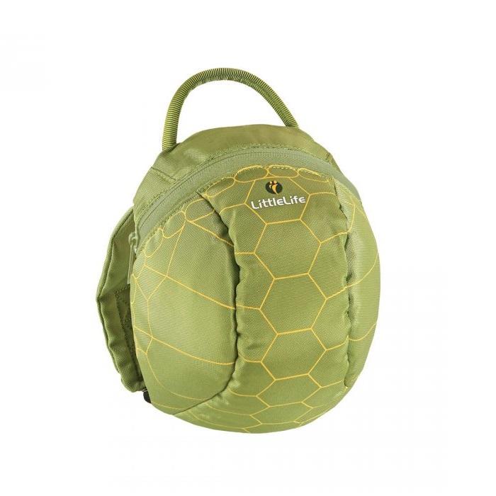 Barnryggsäck LittleLife Toddler Turtle grön