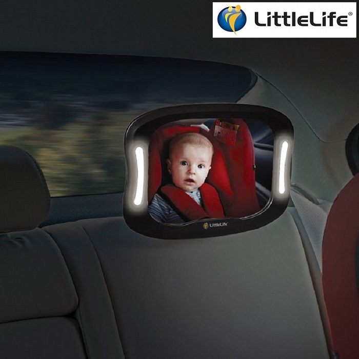 Baksätesspegel Littlelife Light Up Mirror