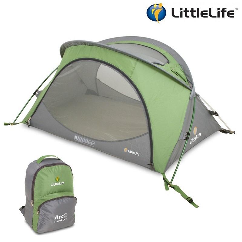 Resesäng Littlelife Arc 2 grön