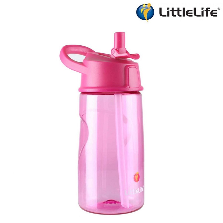 Vattenflaska barn Littlelife 550 ml rosa