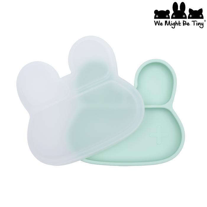 Lock till matlåda barn i silikon We Might Be Tiny Bunny