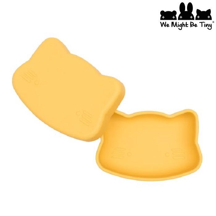 Matlåda barn i silikon We Might Be Tiny Yellow
