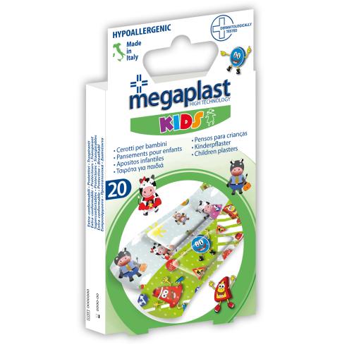 Barnplåster Megaplast Kids 20 st