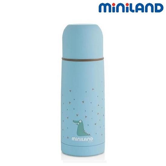 Barntermos Miniland Silky Blue 350 ml