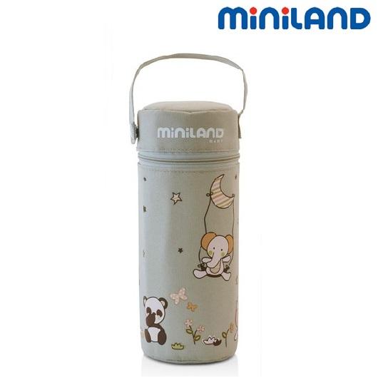 Isolerad termoväska till nappflaska Miniland Thermibag