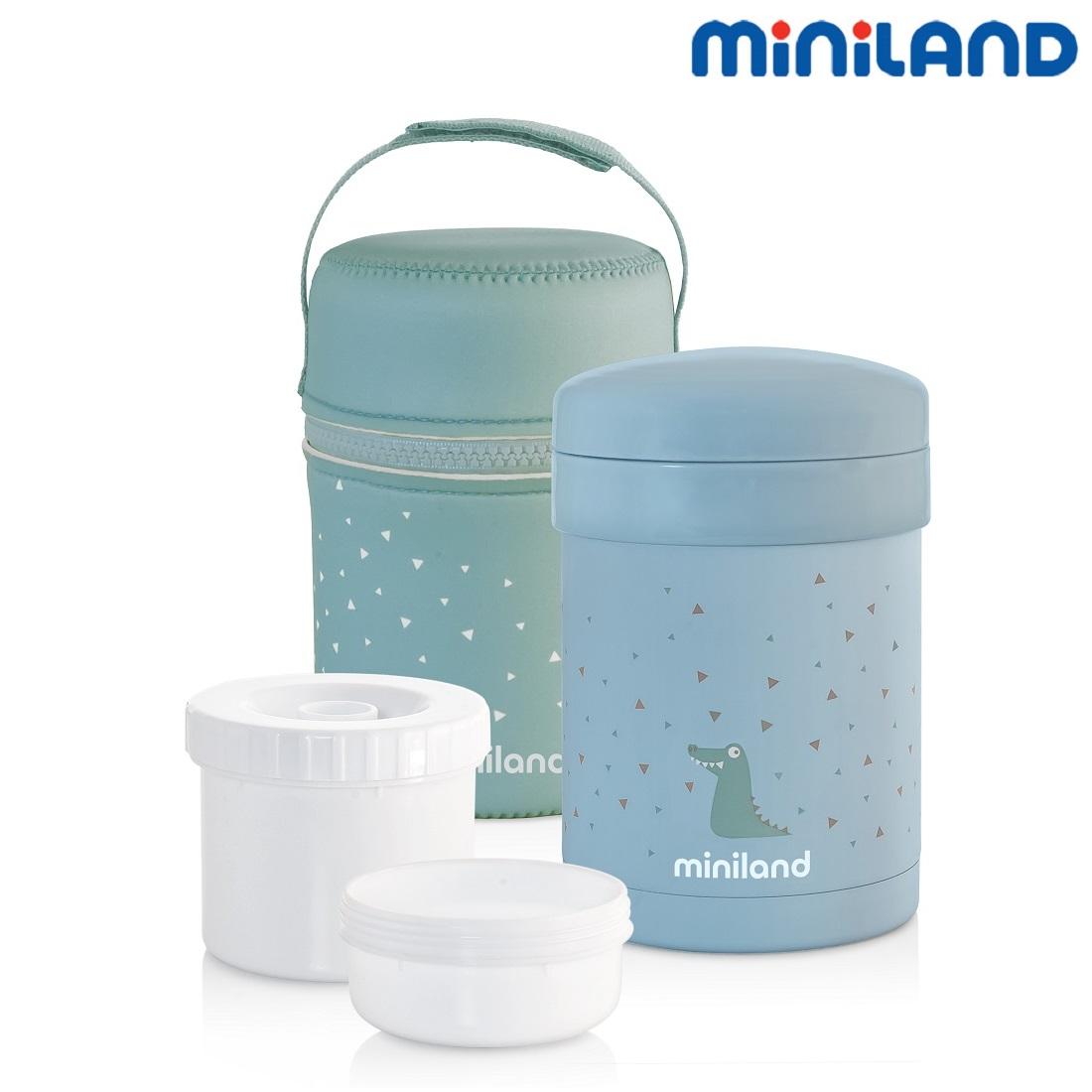 Mattermos barn Miniland Blå