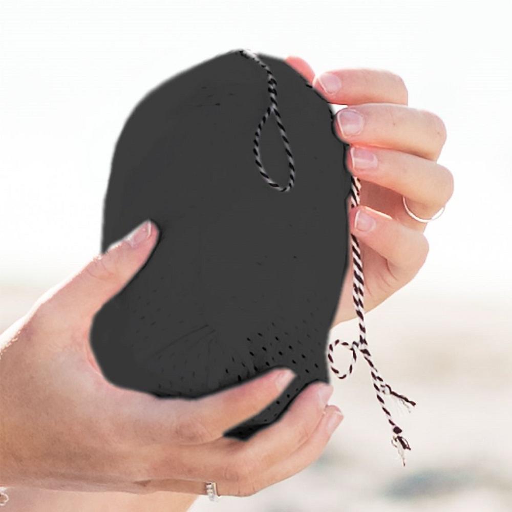 Minimonkey bärsjal - Mini Sling svart