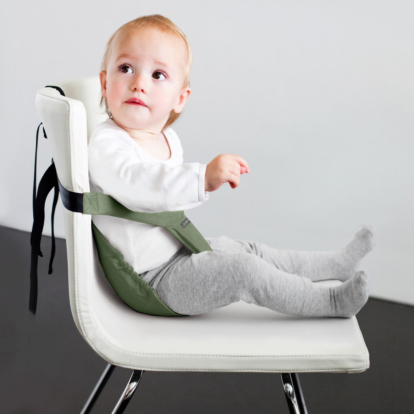 Resebarnstol Minimonkey Minichair Army Green