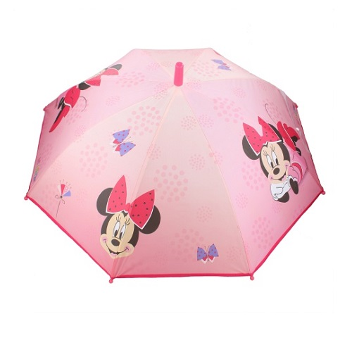Paraply barn Minnie Mouse rosa