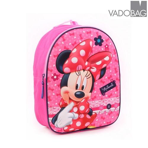 Ryggsäck barn Minnie Mus 3D rosa