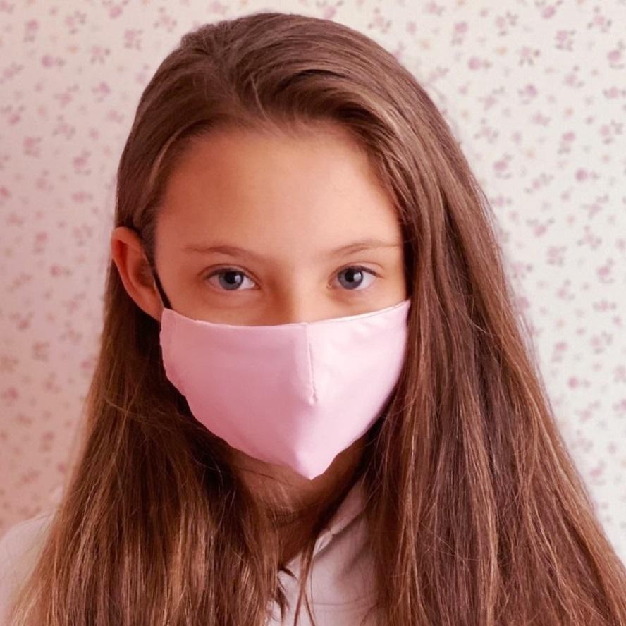 Munskydd barn Facewear rosa
