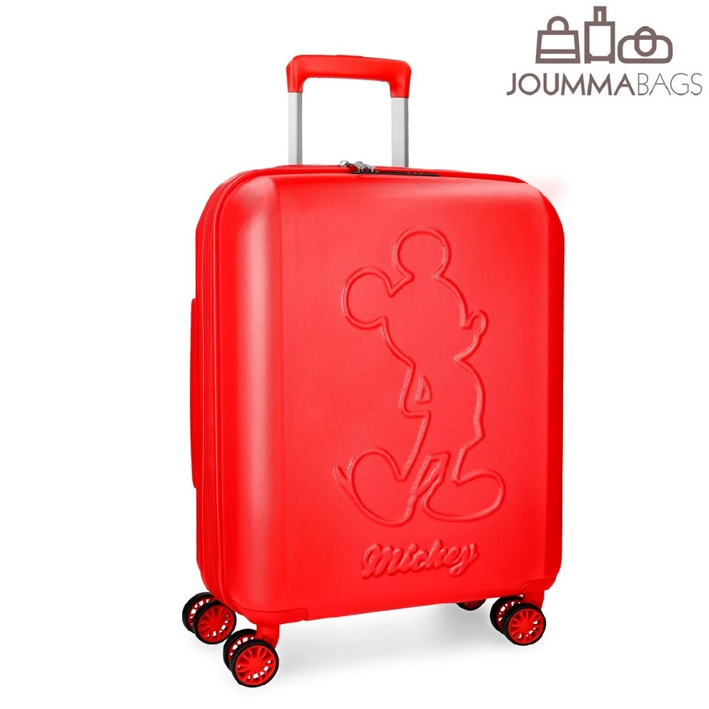 Resväska Joumma Bags Premium Musse Pigg Röd