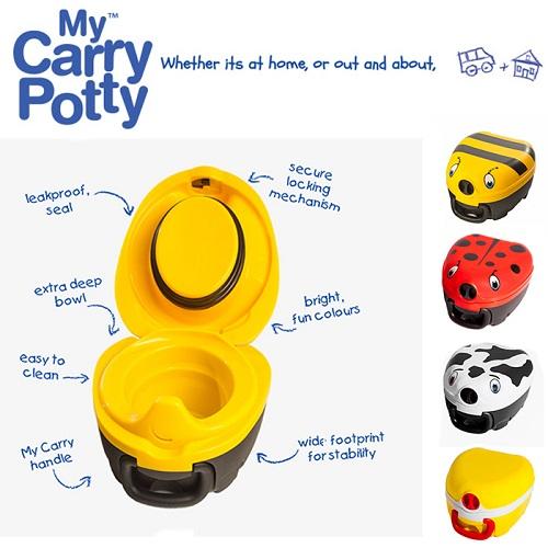 Resepotta My Carry Potty funktioner