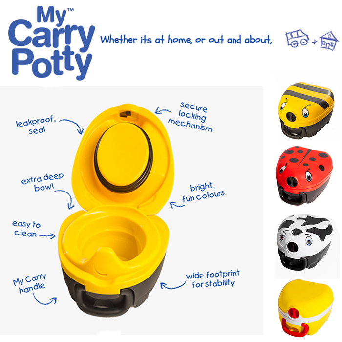 Resepotta My Carry Potty funktioner