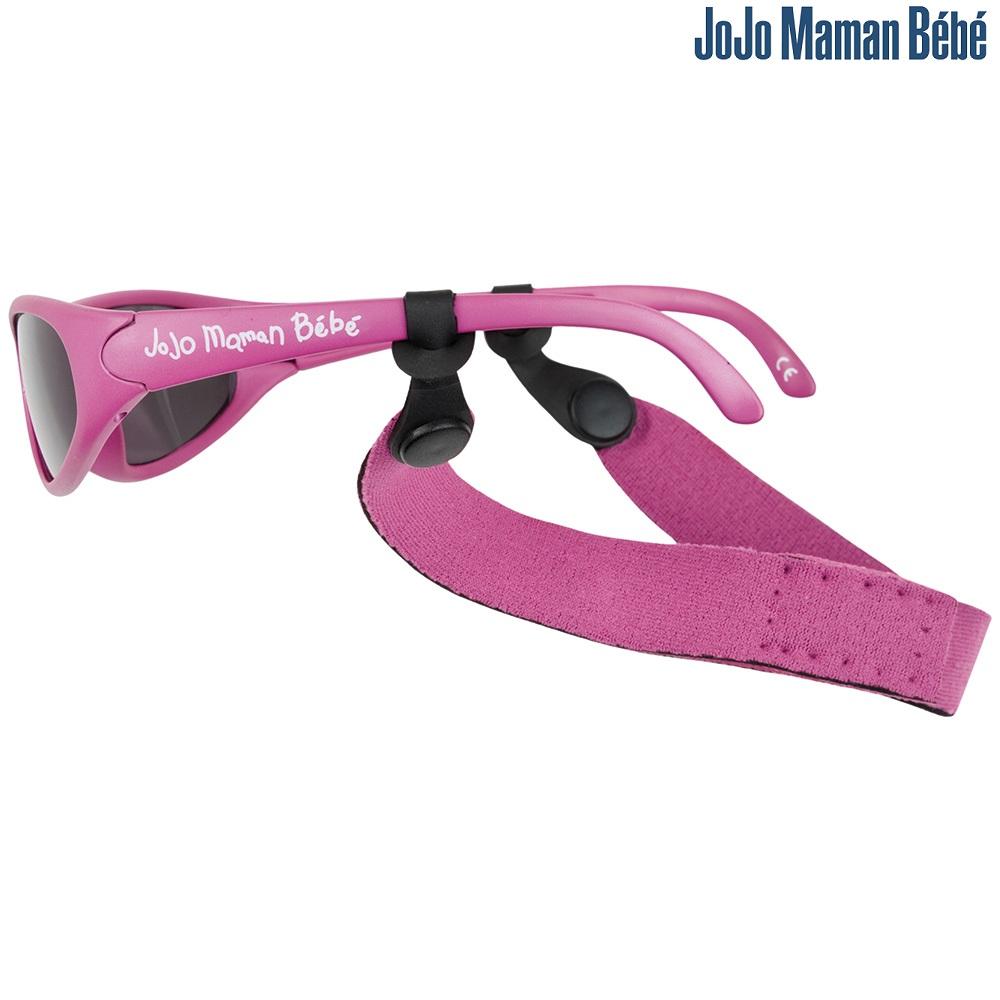 Nackband till solglasögon Jojo Maman Bebe mörkrosa
