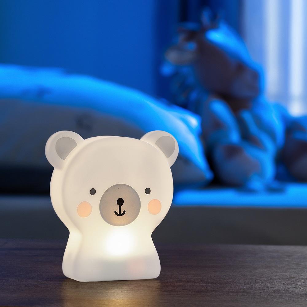 Nattlampa barn Reer Cute Friends Bear
