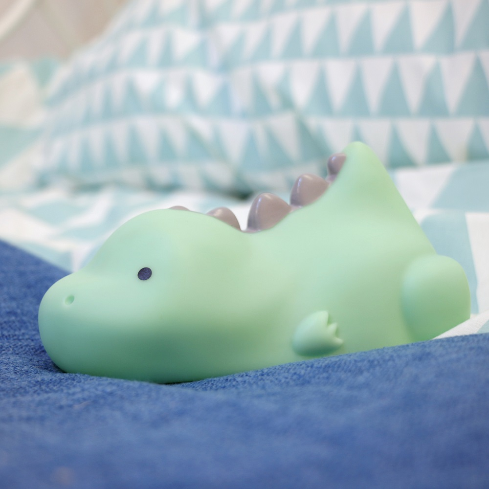 Nattlampa för barn Lazy Friends Dino