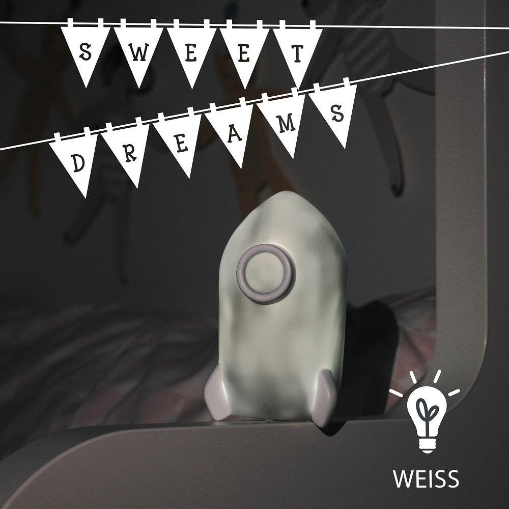 Nattlampa för barn Sweet Dreams Rocket