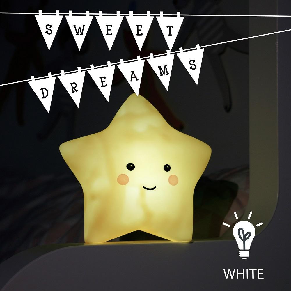Nattlampa för barn Sweet Dreams Star