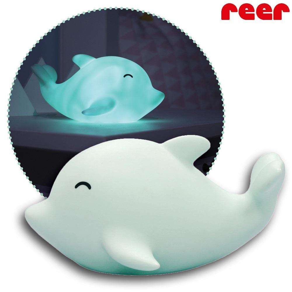 Nattlampa för barn Sea Life Dolphin