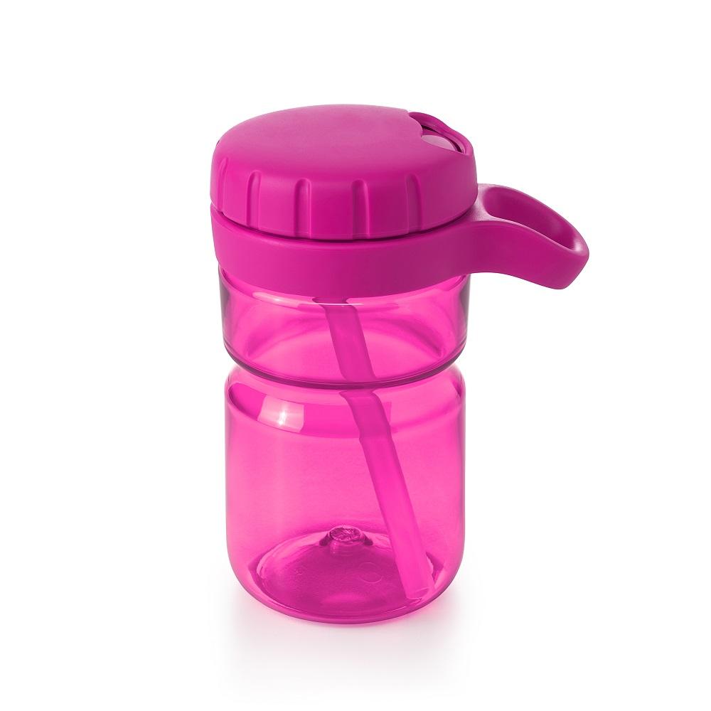 Vattenflaska barn OXO-Tot Twist Lid Bottle Rosa
