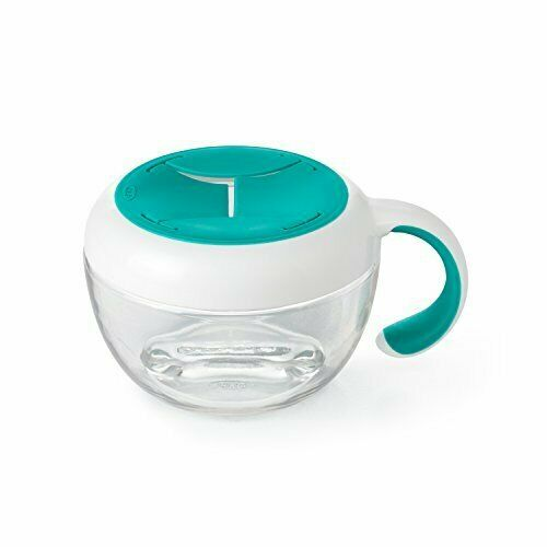 Snacksburk barn OXO-Tot Flippy Snack Cup Teal