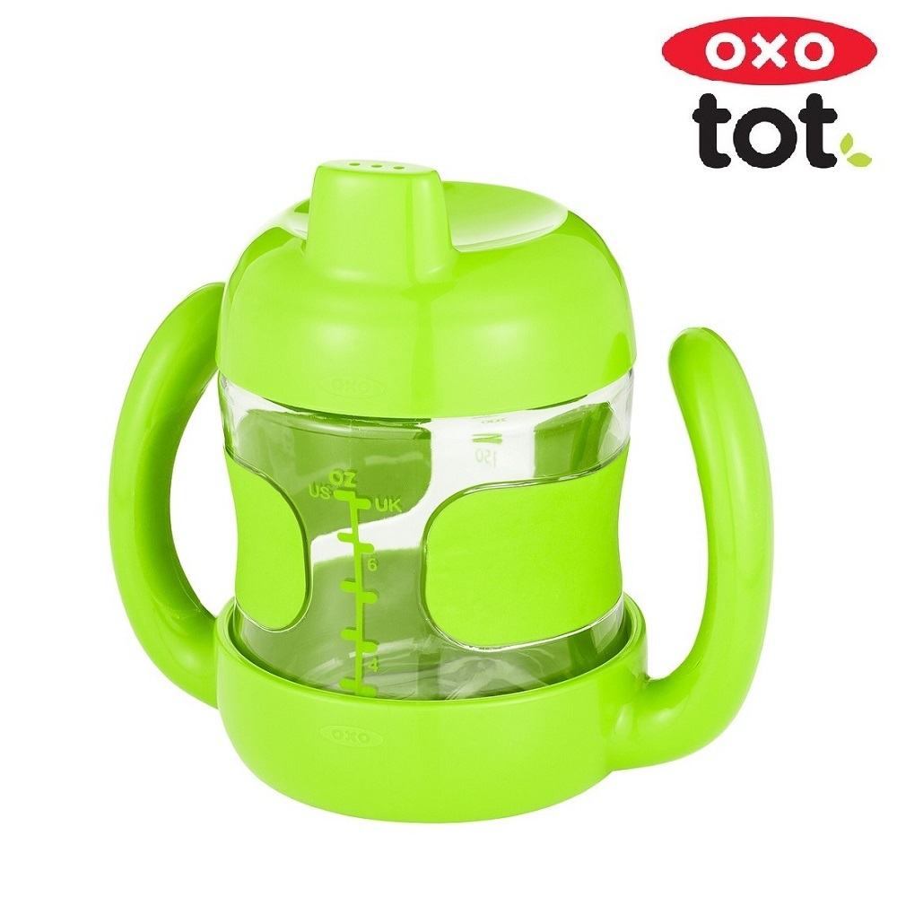 Pipmugg med handtag OXO-Tot Sippy Cup 200 ml Grön