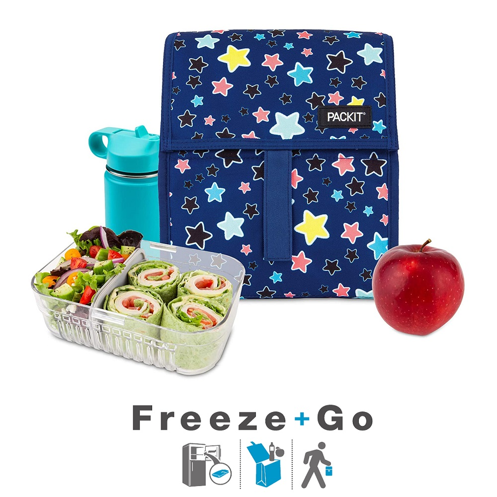 Liten kylväska Packit Freezeable Lunch Bag Bright Stars