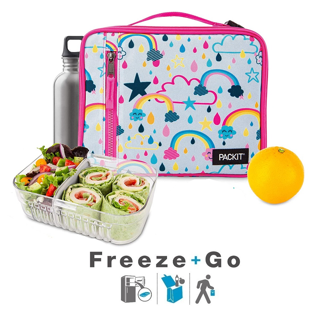Liten kylväska Packit Freezeable Lunch Bag Rainbow